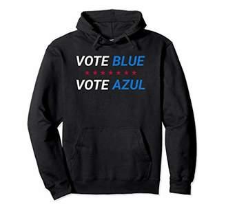 Vote Blue Election Vote Azul Eleccion Hoodie