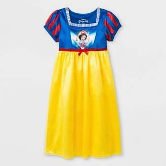 Disney Princess Toddler Girls' Snow White Fantasy Nightgowns - Blue/Yellow
