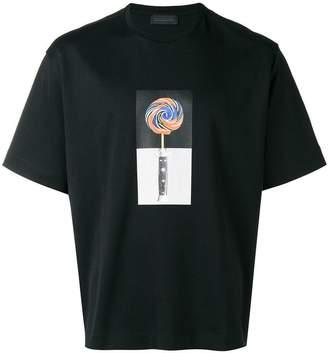 Diesel Black Gold lollipop printed T-shirt