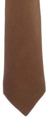 Hermes Woven Silk Tie