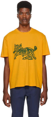 Our Legacy Yellow Cat Print T-Shirt
