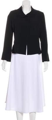 Sonia Rykiel Pleated Long Sleeve Jacket