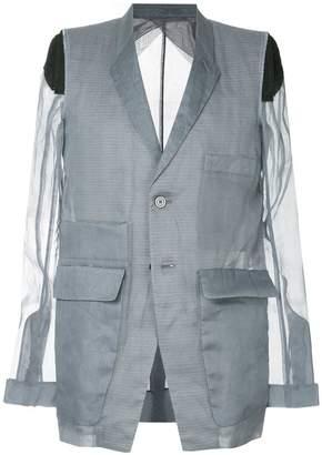 Rick Owens deconstructed blazer