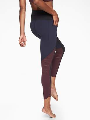 Athleta Chakra Colorblock 7/8 Tight