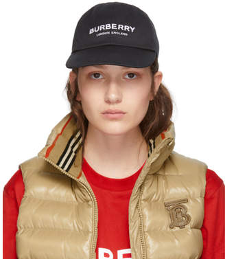 Burberry Black Casual Cap
