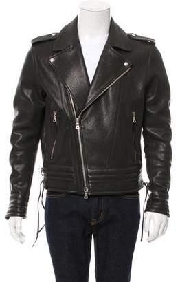 Balmain 2016 Leather Moto Jacket w/ Tags