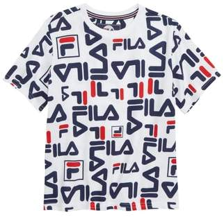 Fila All Over Logo Print T-Shirt
