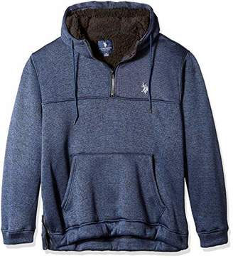 U.S. Polo Assn. Men's Half Zip Pullover Hoodie