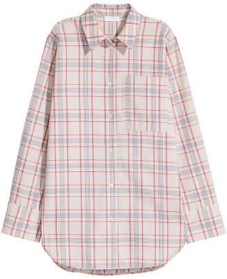 H&M Pima Cotton Shirt - Beige