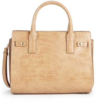 Sole Society Medium Estella Faux Leather Satchel