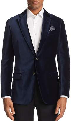 Emporio Armani G-Line Velvet Tailored Fit Jacket