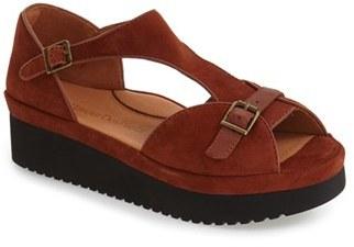 Women's L'Amour Des Pieds 'Audric' Platform T-Strap Sandal $224.95 thestylecure.com
