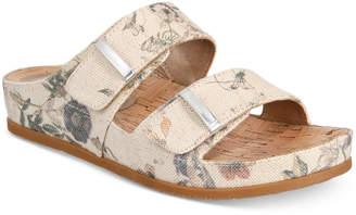 Bare Traps Baretraps Cherilyn Memory Foam Slide Flat Sandals Women's Shoes