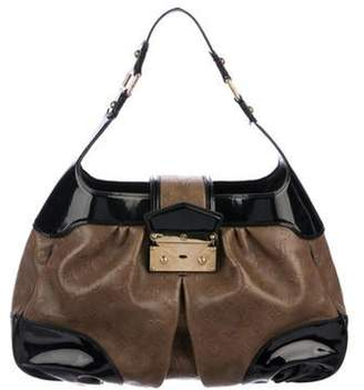 Louis Vuitton Monogram Cuir Embossé Polly Bag Brown Monogram Cuir Embossé Polly Bag