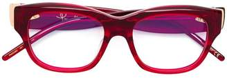 Pomellato Eyewear rectangular frame glasses