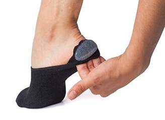 Stomper Joe Bamboo Athletic No Show Socks for Women. 3 Pck Cushioned Sole and Silicon Grip,/