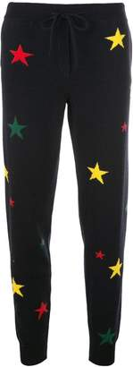 Parker Chinti & intarsia star tract trousers
