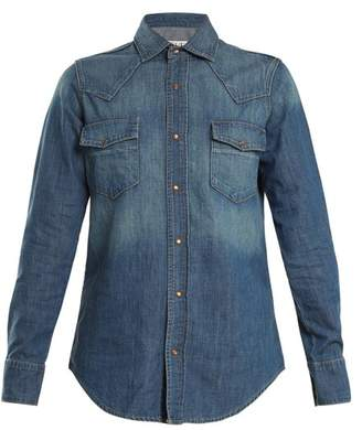 Eve Denim - Margaret Denim Shirt - Womens - Dark Blue