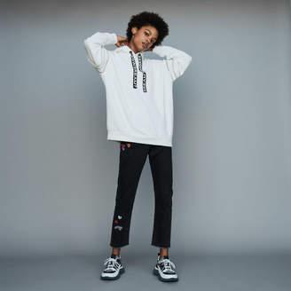 Maje Hooded sweatshirt with zips