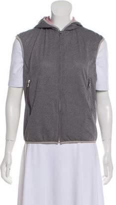 Prada Sport Reversible Zip-Up Vest