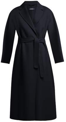 Max Mara S Aronare Coat - Womens - Navy
