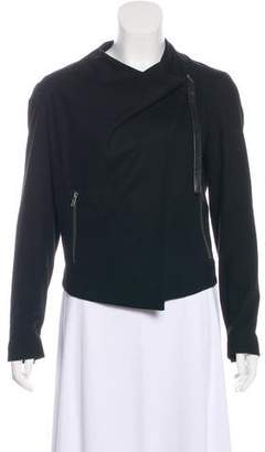 Helmut Lang Wool Crop Jacket
