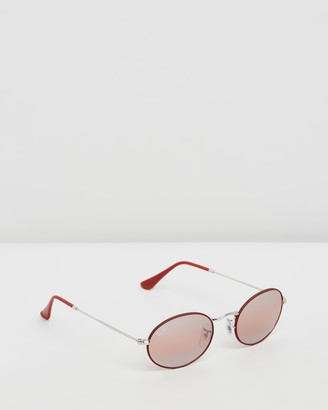 Ray-Ban Oval Flat Lenses