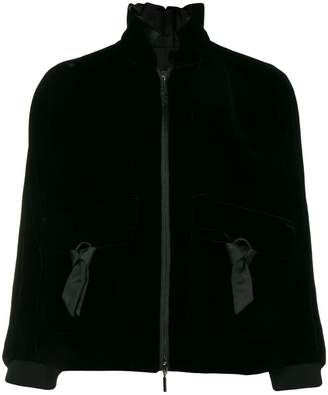 Emporio Armani ribbon detail jacket