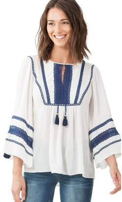 Hale Bob Courtney Crinkle Tunic