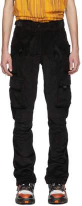 Ottolinger Black Corduroy Cargo Pants