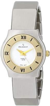 Peugeot Women's 729WT Two-Tone Bracelet Watch