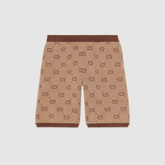 Gucci Children's GG wool shorts