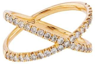 Eva Fehren The Shorty Diamond Ring