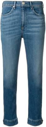 Rag & Bone Jean button cuff slim jeans