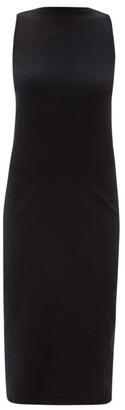 Wolford Python Sleeveless Stretch Jersey Dress - Womens - Black
