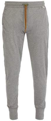 Paul Smith Cotton Jersey Pyjama Trousers - Mens - Grey