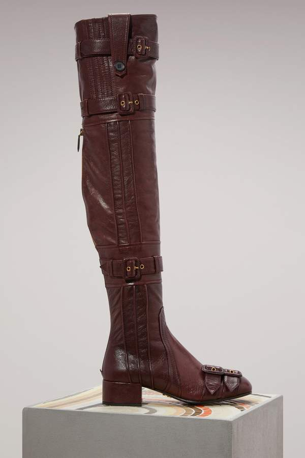 Prada High boots