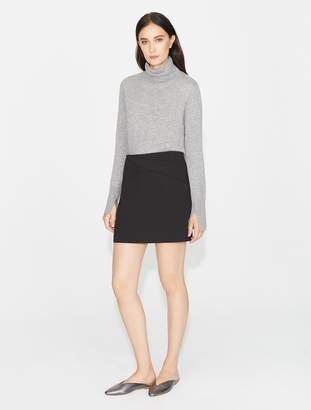 Halston Draped Mini Skirt