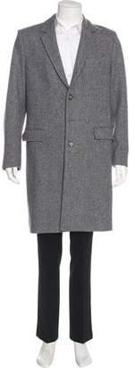 Ami Alexandre Mattiussi Wool Overcoat