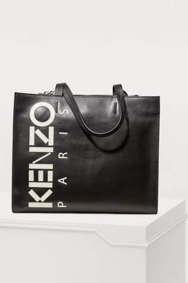 Kenzo Leather shopping bag