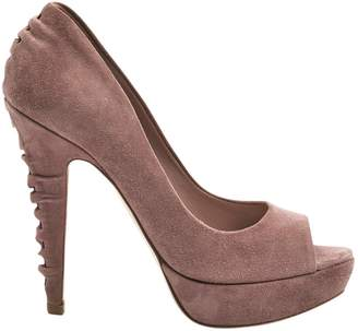 Miu Miu Purple Suede High Heel
