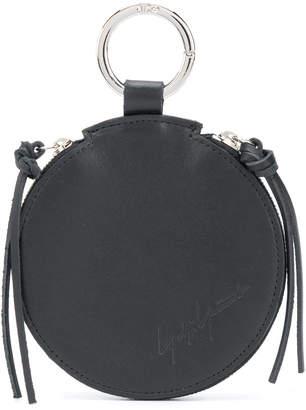 Yohji Yamamoto round zipped coin purse