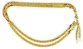 Iradj Moini Chain-Link Waist Belt