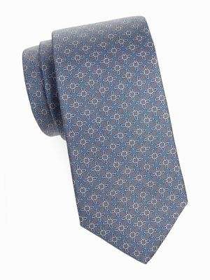Brooks Brothers Silk Circle-Print Tie