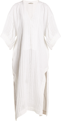 THREE GRACES LONDON Livietta linen kaftan