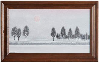 Rejuvenation Modernist Winter Landscape Painting by Bob Mildrexler