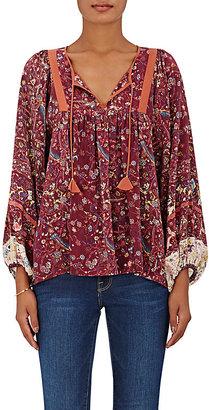 Ulla Johnson Women's Wim Peasant Blouse $380 thestylecure.com