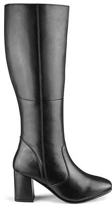 4d64151f871 Leather High Leg Boots Extra Wide EEE Fit Super Curvy Calf