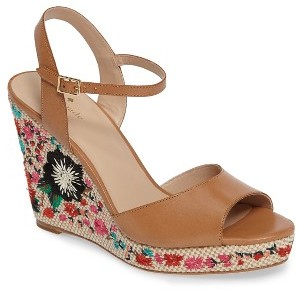 Women's Kate Spade New York Jardin Wedge Sandal $238 thestylecure.com