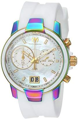 Technomarine Women's 'UF6' Quartz Stainless Steel and Silicone Casual Watch